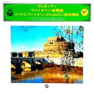 ◇クラシック音楽LP◇ヴィオッティのヴァイオリン協奏曲第22番とピアノとヴァイオリンのための二重協奏曲