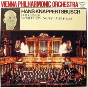 ◇クラシック音楽LP◇ハンス・クナッパーツブッシュ指揮ウィーン・フィルのブルックナー:交響曲第5番