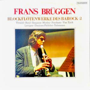 ◇クラシック音楽LP◇フランス・ブリュッヘン ブロックフレーテ(リコーダー)によるバロック音楽名演集