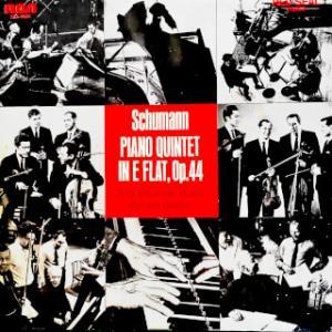 ◇クラシック音楽LP◇ルービンシュタイン&ガルネリ弦楽四重奏団のシューマン:ピアノ五重奏曲