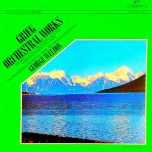 ◇クラシック音楽LP◇ジョージ・ウェルドン指揮によるグリーグの北欧の自然を反映した4つの管弦楽曲