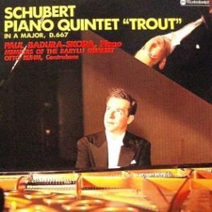 ◇クラシック音楽LP◇若き日のパウル・パドゥラ=スコラのシューベルト:ピアノ五重奏曲「ます」