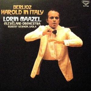 ◇クラシック音楽LP◇ロリン・マゼールのベルリオーズ:交響曲「イタリアのハロルド」