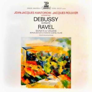 ◇クラシック音楽LP◇ジャン=ジャック・カントロフ&ジャック・ルヴィエによるドヴュッシー/ラヴェル:ヴァイオリンソナタ他