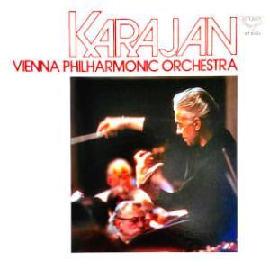 ◇クラシック音楽LP◇カラヤン指揮ウィーン・フィルのドヴォルザーク:交響曲第8番「イギリス」