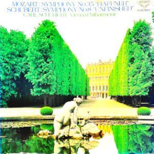 ◇クラシック音楽LP◇シューリヒト指揮ウィーン・フィルのモーツァルト:交響曲第35番「ハフナー」/シューベルト:交響曲第8番「未完成」