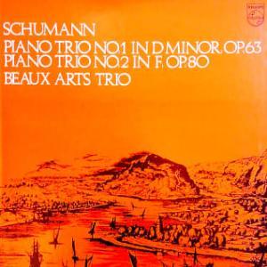 ◇クラシック音楽LP◇ボーザールトリオのシューマン:ピアノ三重奏曲第1番/第2番