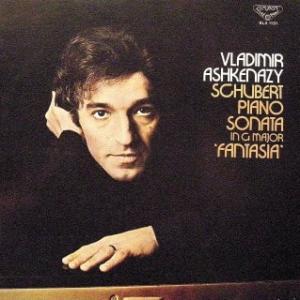 ◇クラシック音楽LP◇若き日のアシュケナージのシューベルト:ピアノソナタ第18番「幻想」