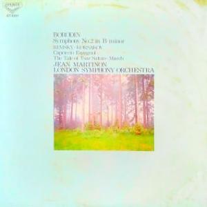 ◇クラシック音楽LP◇ジャン・マルティノンのボロディン:交響曲第2番 他