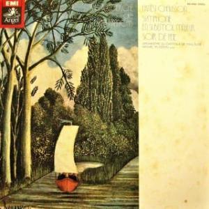 ◇クラシック音楽LP◇ショーソン:交響曲変ロ長調/交響詩「祭りの夕べ」