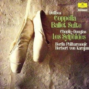 ◇クラシック音楽LP◇カラヤン指揮ベルリン・フィルのバレエ組曲「コッペリア」/「レ・シルフィード」