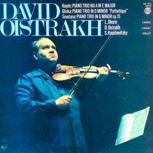 ◇クラシック音楽LP◇オイストラフ三重奏団によるハイドン、グリンカ、スメタナのピアノ三重奏曲