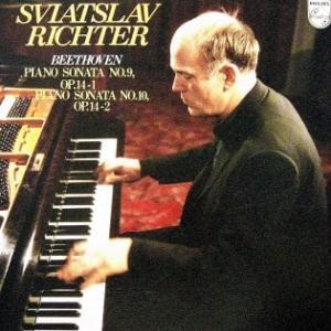 ◇クラシック音楽LP◇リヒテルのベートーヴェン:ピアノソナタ第9番/第10番