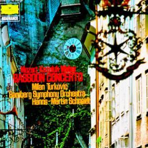 ◇クラシック音楽LP◇ミラン・トゥルコヴィッチのモーツァルト:ファゴット協奏曲/コゼルー:ファゴット協奏曲/ウェーバー:ファゴット協奏曲