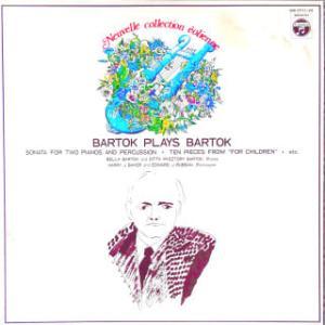 ◇クラシック音楽LP◇バルトーク夫妻のピアノ演奏による「2台のピアノと打楽器のためのソナタ」他