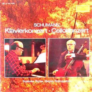 ◇クラシック音楽LP◇リヒテルのシューマン:ピアノ協奏曲/ロストロポーヴィッチのシューマン:チェロ協奏曲