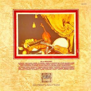 ◇クラシック音楽LP◇モーツァルト:ピアノと管楽器のための五重奏曲 他