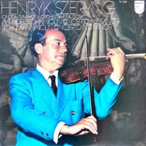 ◇クラシック音楽LP◇ヘンリック・シェリングのメンデルスゾーン&シューマン:ヴァイオリン協奏曲