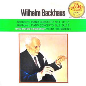 ◇クラシック音楽LP◇バックハウスのベートーヴェン:ピアノ協奏曲第1番/第2番