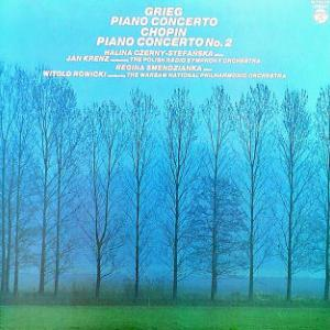 ◇クラシック音楽LP◇ステファンスカのグリーグ:ピアノ協奏曲/スメンジャンカのショパン:ピアノ協奏曲第2番