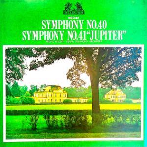 ◇クラシック音楽LP◇フェレンツ・フリッチャイのモーツァルト:交響曲第40番/第41番「ジュピター」