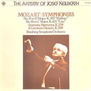 ◇クラシック音楽LP◇ヨゼフ・カイルベルトのモーツァルト:交響曲第35番「ハフナー」/セレナード第6番「セレナータ・ノットゥルナ」/第36番「リンツ」/6つのドイツ舞曲集