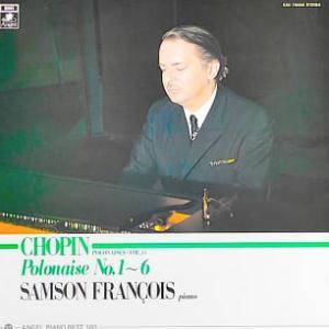 ◇クラシック音楽LP◇サンソン・フランソワのショパン:ポロネーズ集