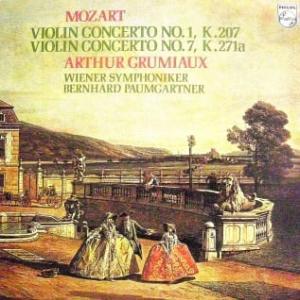 ◇クラシック音楽LP◇グリュミオーのモーツァルト:ヴァイオリン協奏曲第1番/第7番