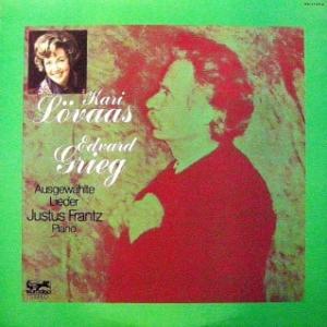 ◇クラシック音楽LP◇ノルウェー出身のソプラノ:カリー・レファースがノルウェー語で歌うグリーグ:歌曲集