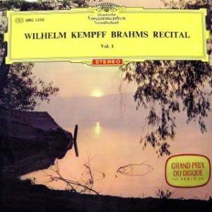 ◇クラシック音楽LP◇ケンプのブラームス:晩年のピアノ小品集