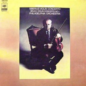 ◇クラシック音楽LP◇アイザック・スターンのシベリウス&ブルッフ:ヴァイオリン協奏曲