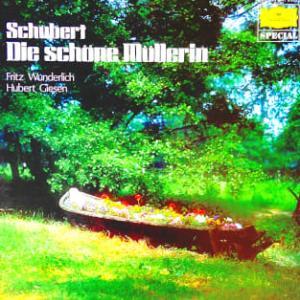 ◇クラシック音楽LP◇夭折した名テノール:ヴンダーリッヒのシューベルト:歌曲集「美しき水車小屋の娘」