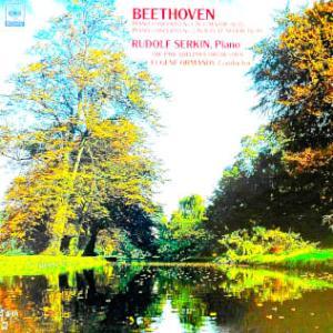 ◇クラシック音楽LP◇ルドルフ・ゼルキンのベートーヴェン:ピアノ協奏曲第1番/第2番