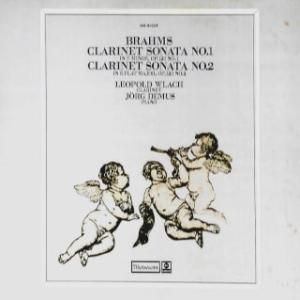 ◇クラシック音楽LP◇レオポルド・ウラッハのブラームス:クラリネットソナタ第1番/第2番