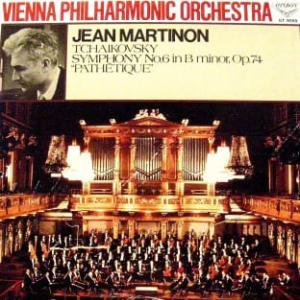 ◇クラシック音楽LP◇ジャン・マルティノン&ウィーン・フィルのチャイコフスキー:交響曲第6番「悲愴」