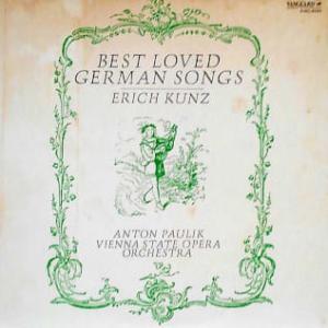 ◇クラシック音楽LP◇エーリッヒ・クンツのドイツ愛唱歌集