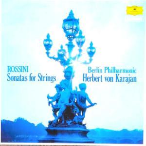 ◇クラシック音楽LP◇カラヤン指揮ベルリン・フィルによるロッシーニ:弦楽のためのソナタ集