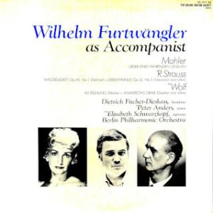 ◇クラシック音楽LP◇フルトヴェングラー指揮&ピアノ伴奏と3人の名歌手たちによライヴ録音