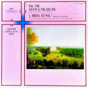 ◇クラシック音楽LP◇名メゾ・ソプラノ クリスタ・ルードヴィッヒのブラームス/ワーグナー/マーラー歌曲集