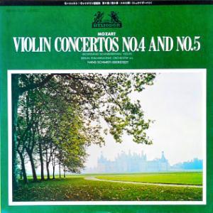 ◇クラシックLP◇シュナイダーハンのモーツァルト:ヴァイオリン協奏曲第4番/第5番