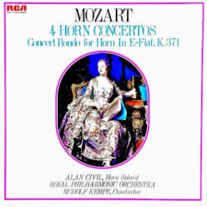 ◇クラシック音楽LP◇ホルンの名手アラン・シヴィルのモーツァルト:ホルン協奏曲全集