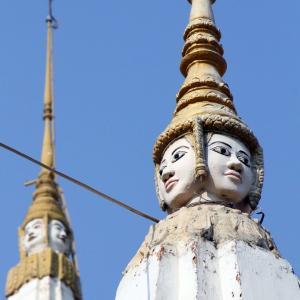 Tuol Tompoung Pagoda 都心にある大きなお寺さんです。