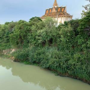 Kampong Kdol Pagoda お寺さん。