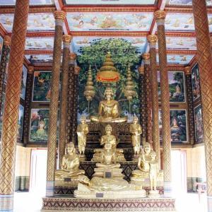 Prey Veng Pagoda お寺さん。