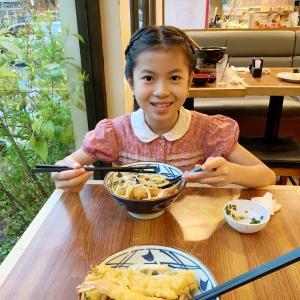 MARUGAME UDON 丸亀うどんさんで夕食。