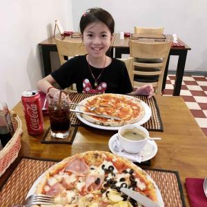 3年ぶりにイタリアンピザ食べに行って来ました。