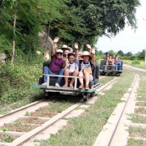 Banon Bamboo Train トロッコ列車です。