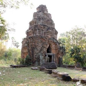 West Tnaot Choum Temple ヒンズー教寺院遺跡。