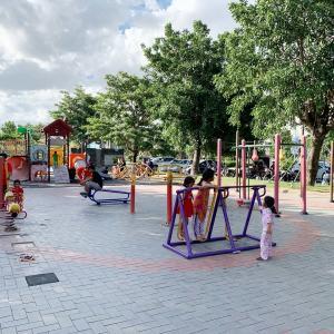 Borey Angkor Phnom Penh City park について。