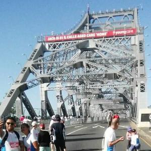 Bridge to Brisbane、走ってきた。